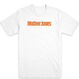 Mother Jones Logo (Orange) Unisex Tee