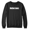 Mother Jones Logo (White) Crewneck