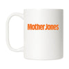 Mother Jones Logo Mug Orange
