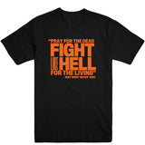 Pray for the Dead (Orange Print) Unisex Tee