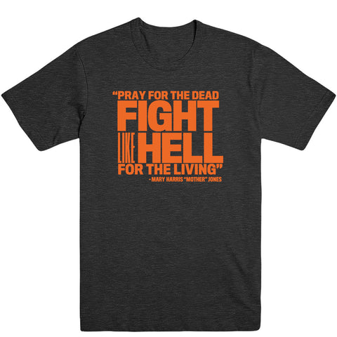 Pray for the Dead (Orange Print) Men's Tee