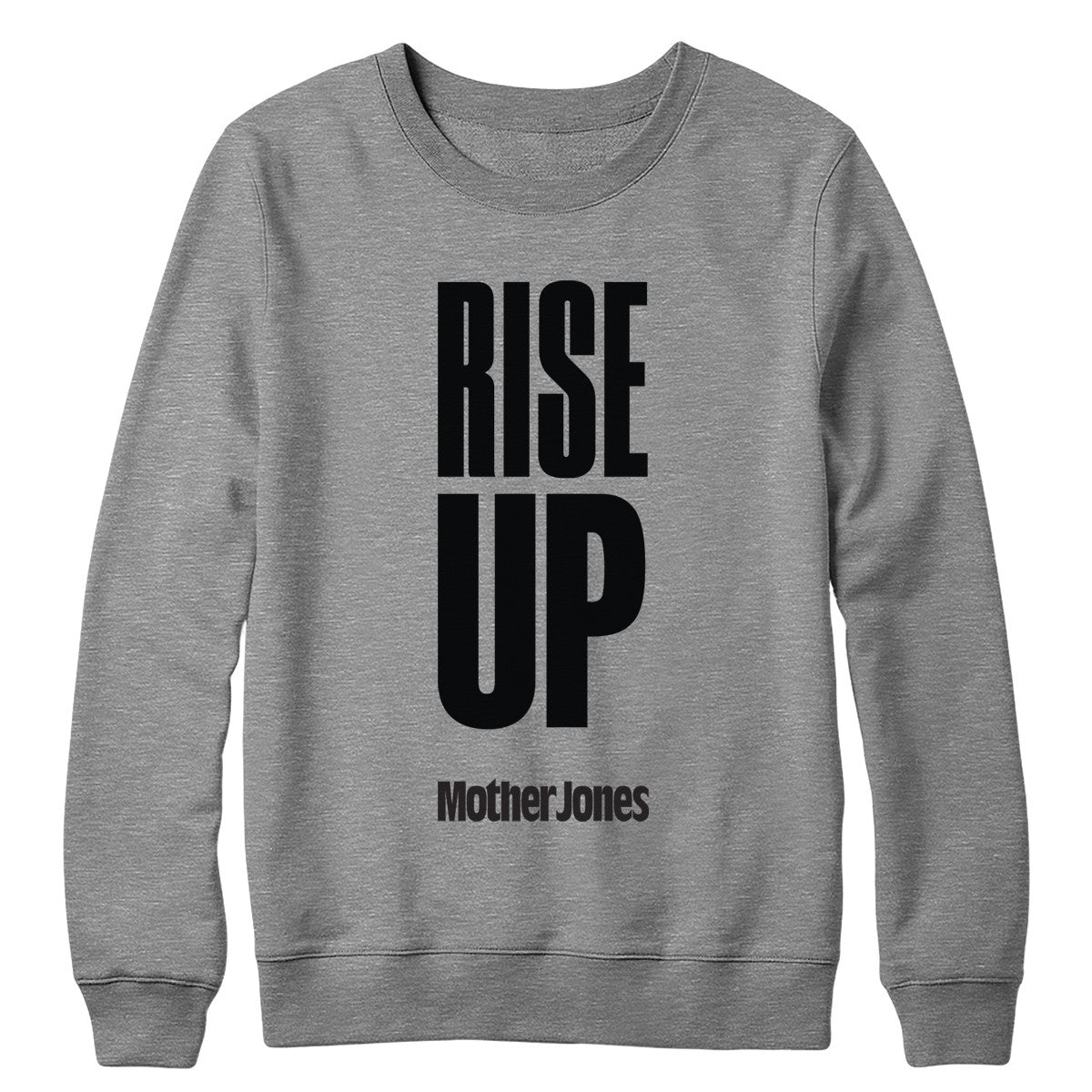 Rise Up (Black Print) Crewneck