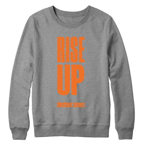 Rise Up (Orange Print) Crewneck