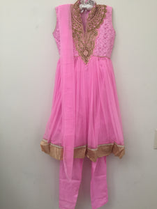 Embroided Shalwar (Pink)
