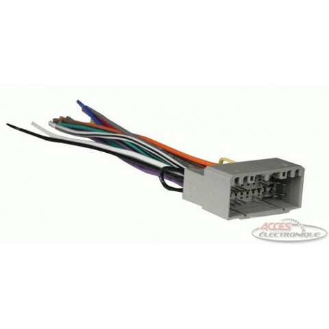 "<span lang=""fr"">(70-6502) ensemble d'inst. radio</span><span lang=""en"">Car Radio Wire Kit (70-6502)</span>"