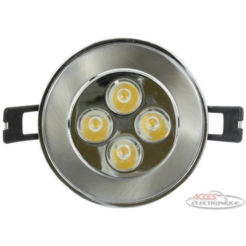 "<span lang=""fr"">lumière DEL encas.12vdc 3w bl.chaud 76mm</span><span lang=""en"">Flush-mount.led light 12vdc 3w warm wh.7</span>"