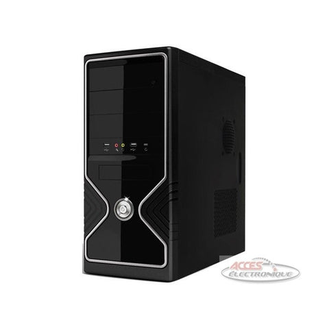 "<span lang=""fr"">Boîtier «Mid-Tower» ATX 480w - Noir (3020ds)</span><span lang=""en"">ATX «Mid-Tower» Case 480w - Black (3020ds)</span>"