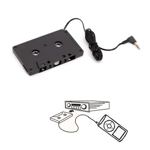 "<span lang=""fr"">Adaptateur de CD à cassette</span><span lang=""en"">CD to Cassette Adapter</span>"