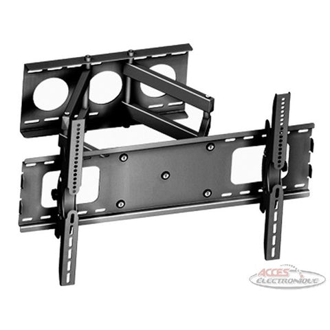 "<span lang=""fr"">Support TV mural Globaltone à double bras articulés et inclinables, 32""-65""</span><span lang=""en"">Globaltone Full Motion Dual Swivel Arms TV Wall Mount, 32""-65""</span>"