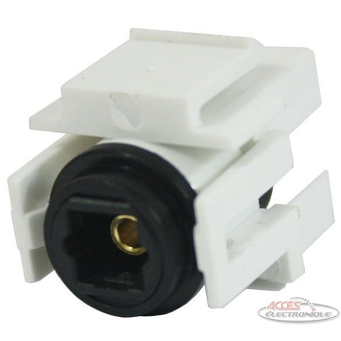 "<span lang=""fr"">Connecteur Keystone Union Optique</span><span lang=""en"">Optical coupler for keystone wall plate</span>"