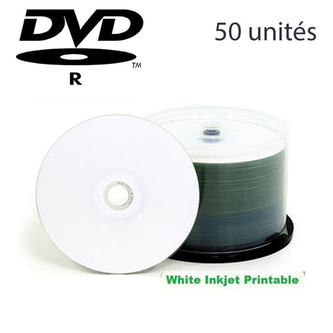 "<span lang=""fr"">DVD-R 4.7go imprimable (paquet 50)</span><span lang=""en"">DVD-R  4.7gb printable (pk50)</span>"