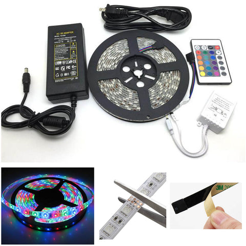 "<span lang=""fr"">Ensemble de ruban à DEL 5050 Globaltone 03073 - Multicolore (5m)</span><span lang=""en"">Multicolor LED strip 5 meter kit</span>"