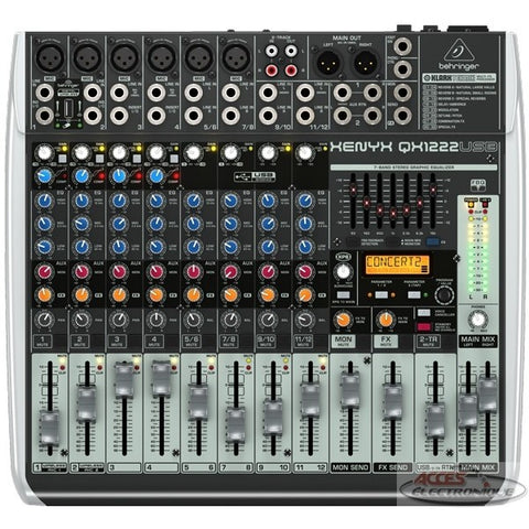 "<span lang=""fr"">Console Behringer Xenyx QX1222USB </span><span lang=""en"">Behringer Xenyx QX1222USB Mixer </span>"