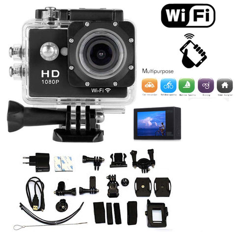 "<span lang=""fr"">Caméra étanche HD Sports 1080p WIFI (Noir)</span><span lang=""en"">Sports Waterproof Camera HD 1080p WIFI  (Black)</span>"