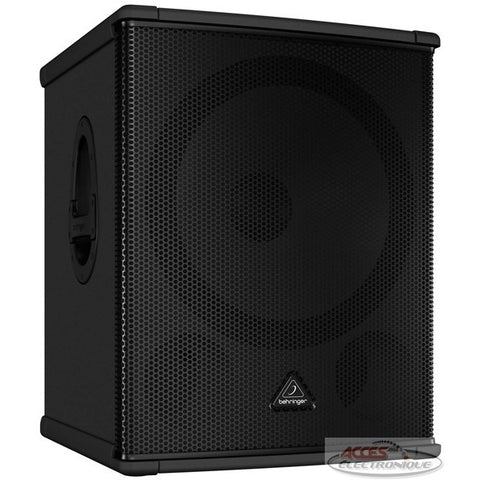 "<span lang=""fr"">Haut-parleur amplifié Behringer EUROLIVE B1500HP</span><span lang=""en"">Behringer EUROLIVE B1500HP Powered Sub Speaker</span>"