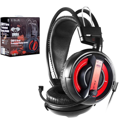 "<span lang=""fr"">Casque de jeux E-Blue Cobra - Rouge</span><span lang=""en"">E-Blue Cobra Gaming Headset - Red</span>"