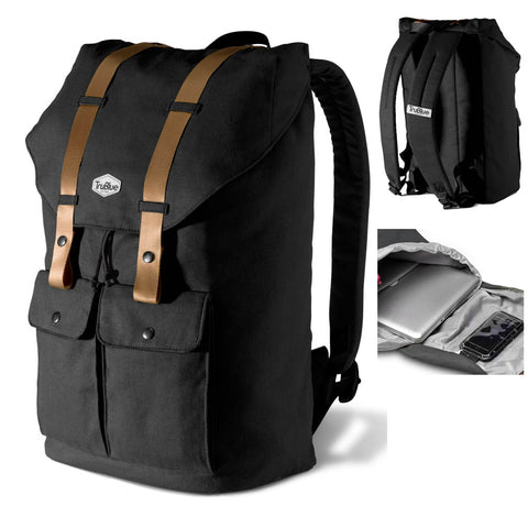 "<span lang=""fr"">Sac à dos pour ordinateur portable 15.6po. Noir</span><span lang=""en"">Backpack for portable laptops 15.6in. Black</span>"