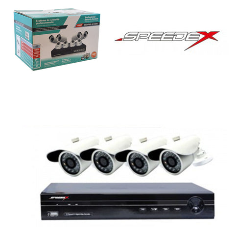 "<span lang=""fr"">Ensemble Speedex 4 Cameras et DVR1080p 1Tb</span><span lang=""en"">Speedex 4 Cameras and DVR 1080p kits 1Tb</span>"