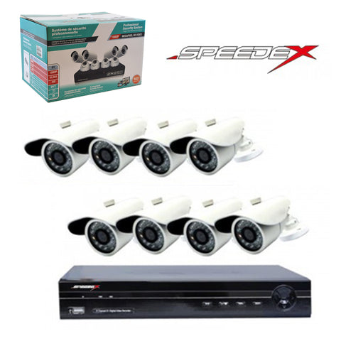 "<span lang=""fr"">Ensemble Speedex 8 caméras et DVR 1080p 1Tb</span><span lang=""en"">Speedex 8 Cameras and DVR 1080p kits 1Tb</span>"