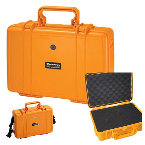 "<span lang=""fr"">Valise de transport hermétique orange</span><span lang=""en"">Orange hermetic carrying case</span>"