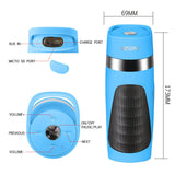 "<span lang=""fr"">Enceinte portative Bluetooth Wesdar K5 (Bleu)</span><span lang=""en"">Wesdar K5 Portable Bluetooth Speakers (Blue)</span>"
