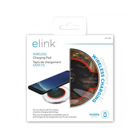 "<span lang=""fr"">Chargeur à induction Elink sans fil ultra mince (EK-599)</span><span lang=""en"">Elink Ultra Thin Wireless Inductive Charger (EK-599)</span>"
