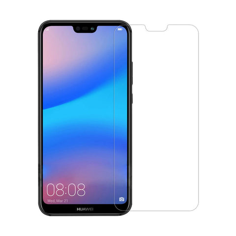 "<span lang=""fr"">Protecteur d'écran en verre trempé transparent pour Huawei P20</span><span lang=""en"">Transparent Tempered Glass Screen Protector for Huawei P20</span>"