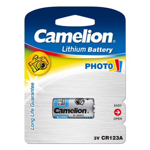 "<span lang=""fr"">Pile Camelion pour camera photo CR-123A</span><span lang=""en"">Camelion Photo Camera Battery CR-123A</span>"