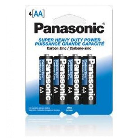 "<span lang=""fr"">Piles AA Panasonic Heavy Duty - Paquet de 4</span><span lang=""en"">Panasonic AA Batteries Heavy Duty - 4 pieces</span>"