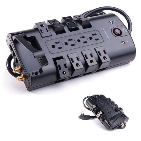 "<span lang=""fr"">Bar d'alim. 12 p 3500j/ cordon 8'</span><span lang=""en"">12 outlets power bar 3500j/ 8' cord</span>"