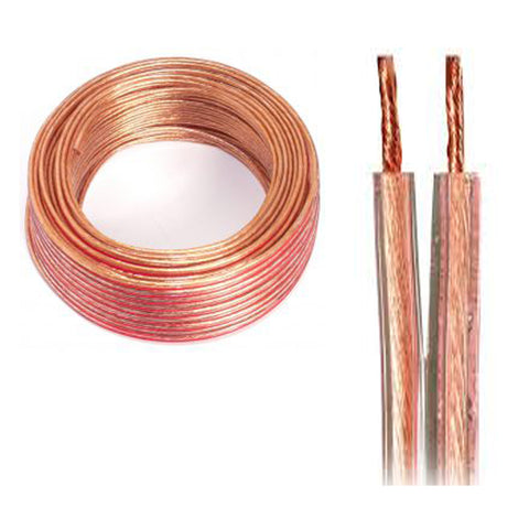 "<span lang=""fr"">Fil à haut-parleur 2/18 AWG (100'/30.48m) - Transparent (00960)</span><span lang=""en"">Transparent Speaker Wire 2/18 AWG (100'/30.48m) - Transparent (00960)</span>"