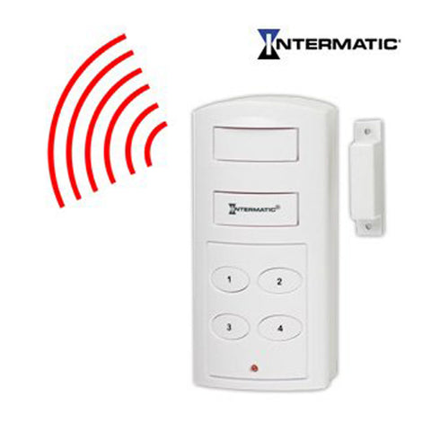 "<span lang=""fr"">Alarme sans-fil Intermatic SP130B avec clavier programmable </span><span lang=""en"">Intermatic SP130B Wireless Alarm with Programmable Keypad </span>"