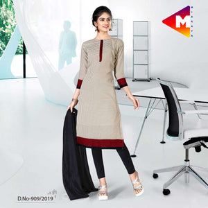 GREY AND BLACK INSTITUTE UNIFORM SALWAR