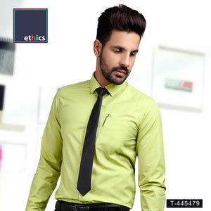 Green Color Men's Formal Uniform Shirt for Corporate Uniforms