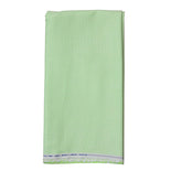 Men's Cotton Plain Unstitched  Shirt Fabric (Green, Free Size)