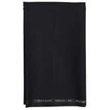 Men's Unstitched Plain Black Pant