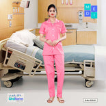 Clinic uniforms For Women | Hospital Uniform, 1515 Pink and White