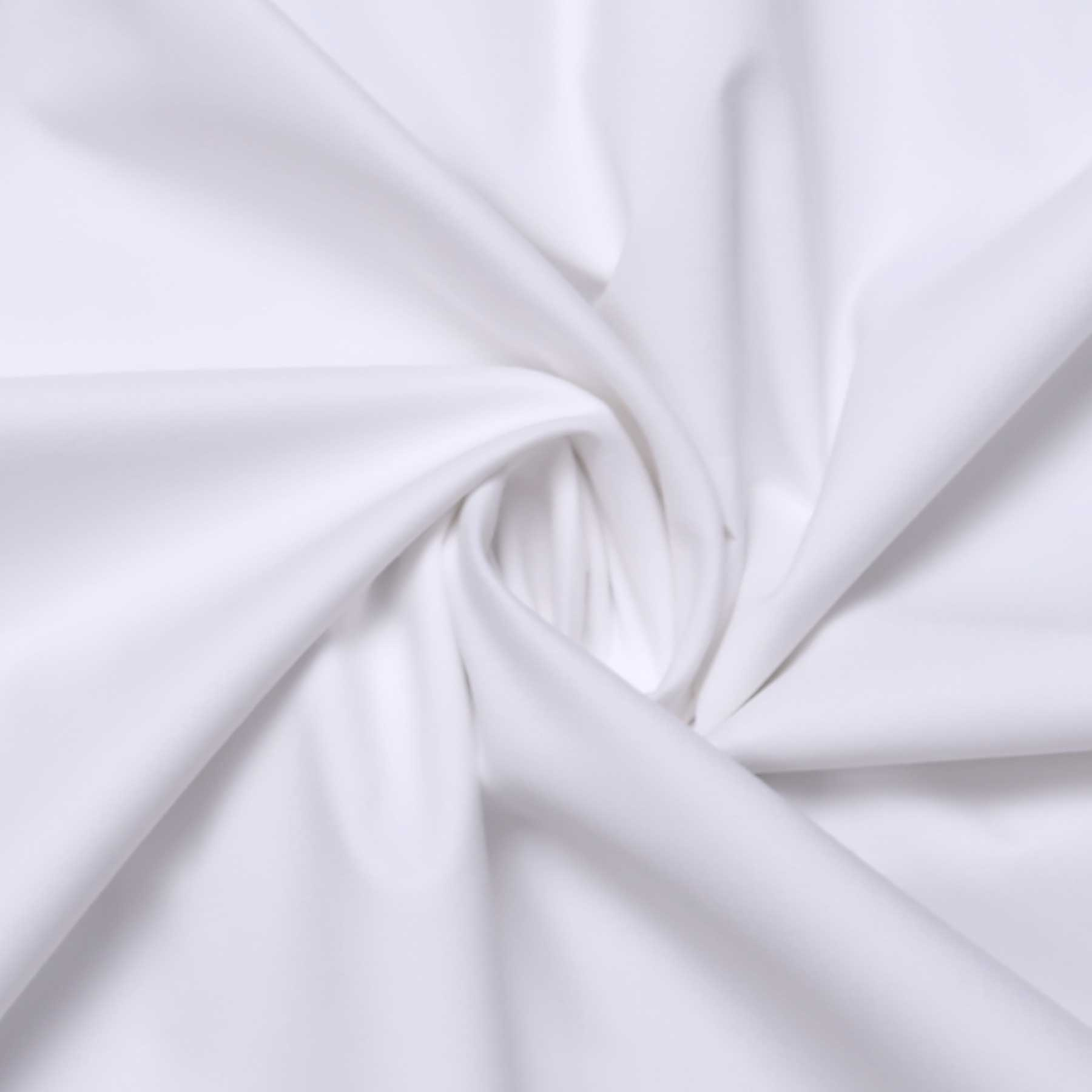 Men's Cotton Plain Unstitched Shirt Fabric (White, Free Size)