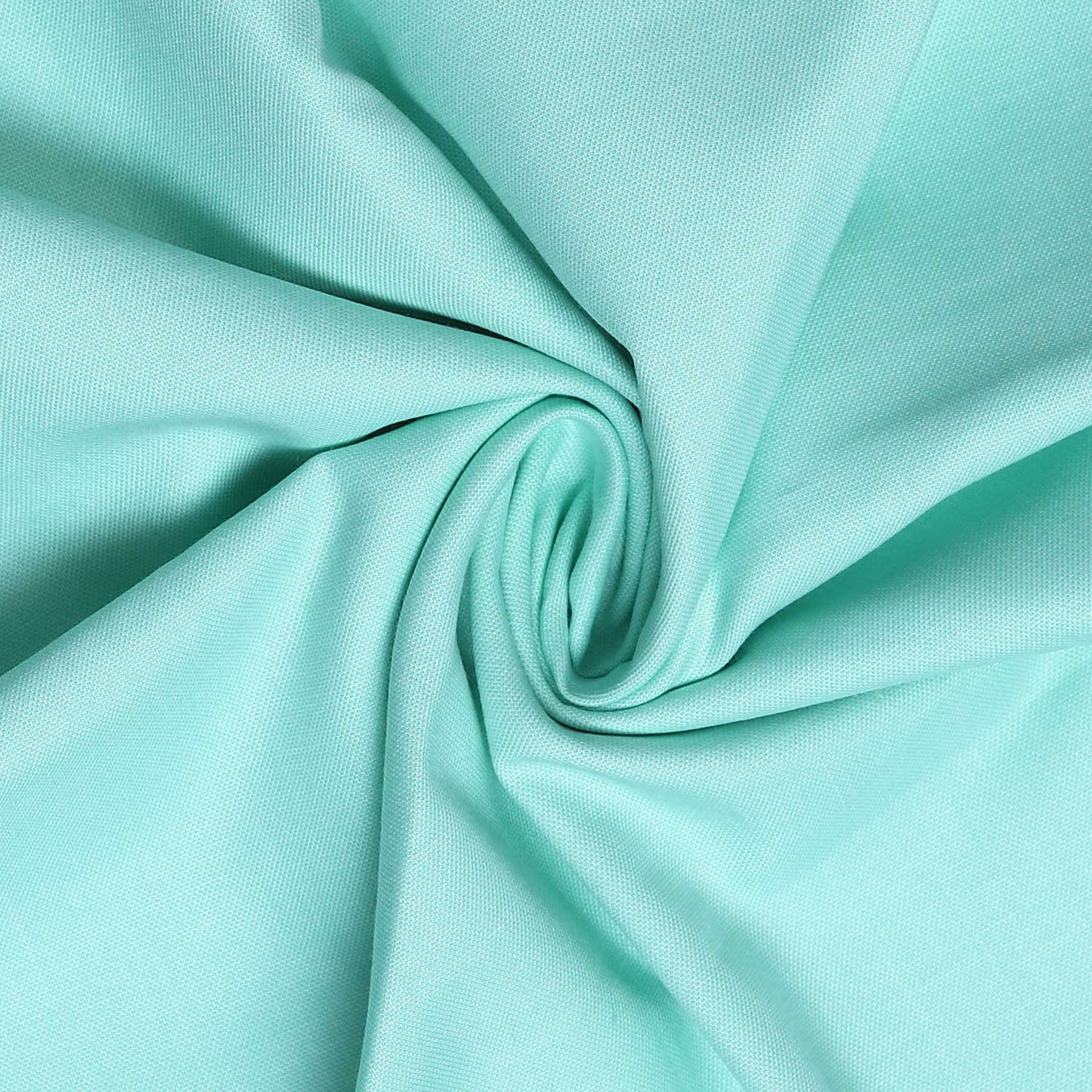 Sea Green Plain Men's Cotton Corporate Workwear Unstitched Shirt Fabrics