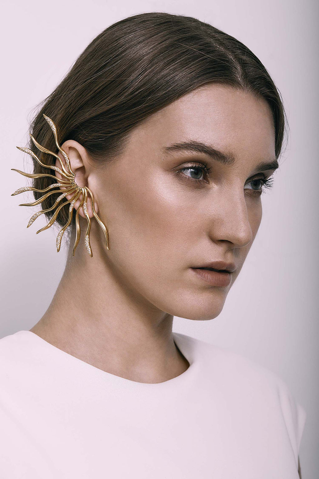 STATEMENT WAVE EAR-CUFF
