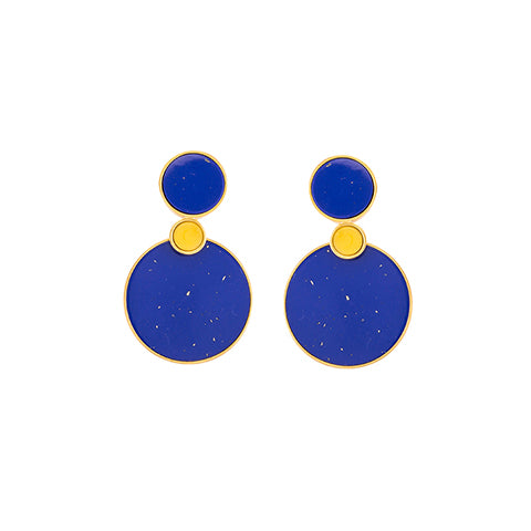 TRIBALE EAR-JACKET EARRINGS