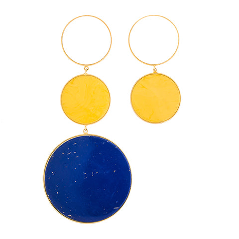 TRIBALE ASYMMETRICAL EARRINGS