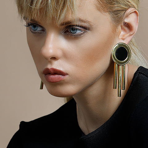 TRIBAL SHOULDER EARRINGS