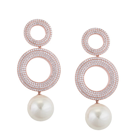 TRIBALE PEARL EARRINGS