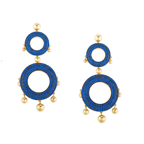 TRIBALE STATEMENT EARRINGS