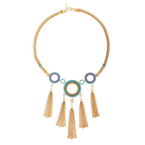 TRIBAL STATEMENT CHAIN NECKLACE