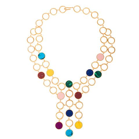 TRIBALE STATEMENT NECKLACE
