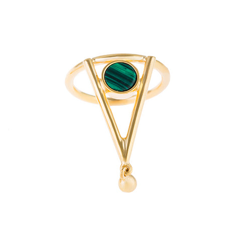 TRIBALE TRIANGLE RING
