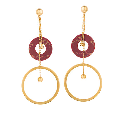 LONG CHAIN TRIBALE EARRINGS