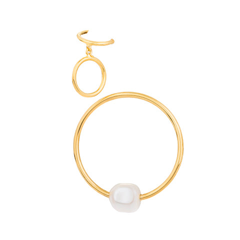 TRIBALE PEARL EAR-CUFF